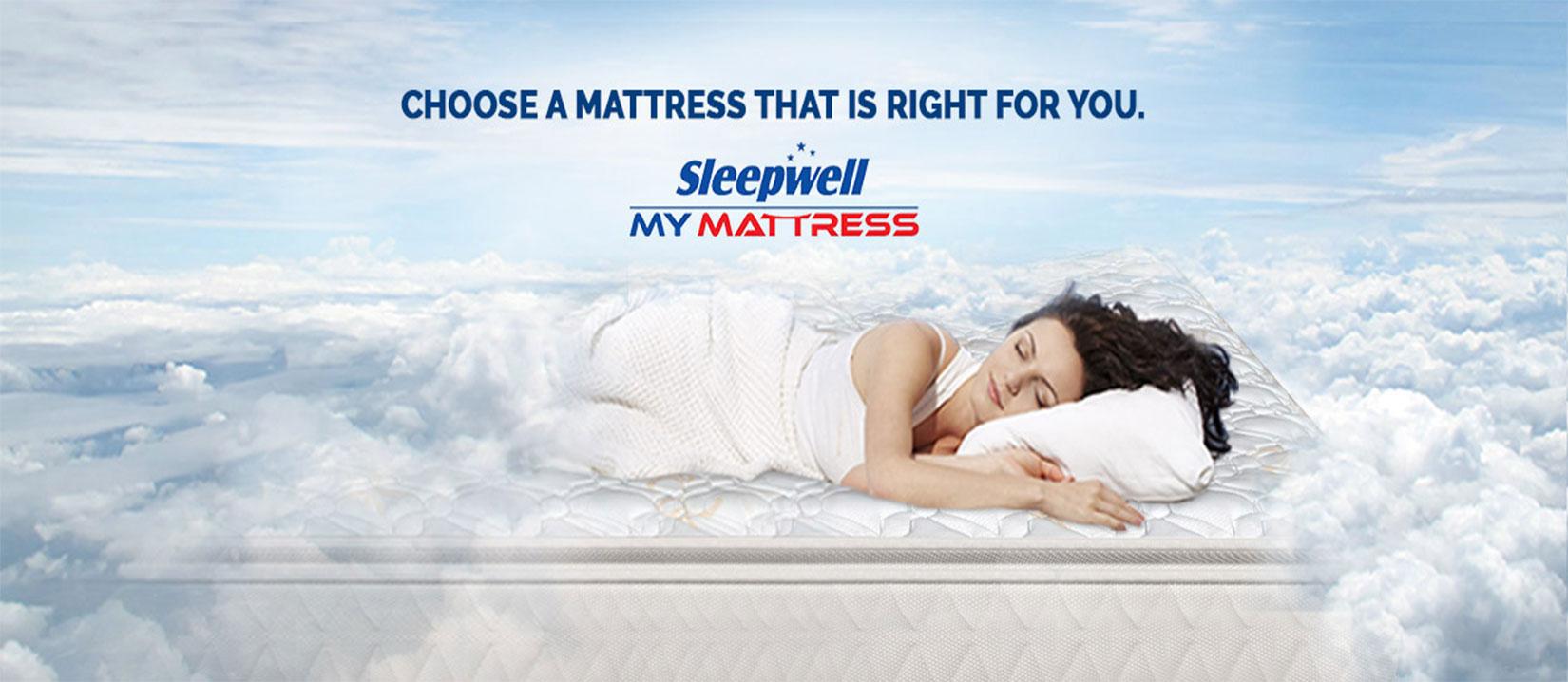 Sleepwell Mattress in Delhi
